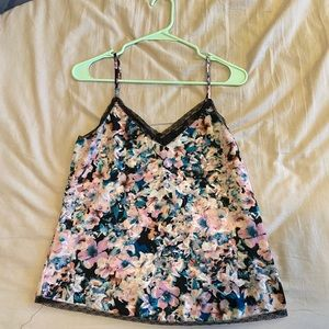 Forever 21 Floral Spaghetti Strap Top - Never Worn